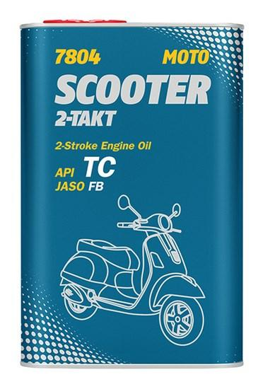 MANNOL Scooter, 2-Takt Motorolja 1l MN7804-1ME TOMOS