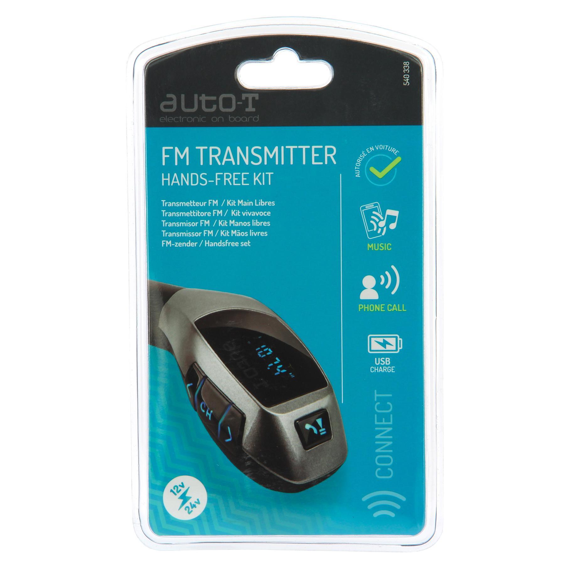 540338 FM transmitter AUTO-T 540338 - Lai valik