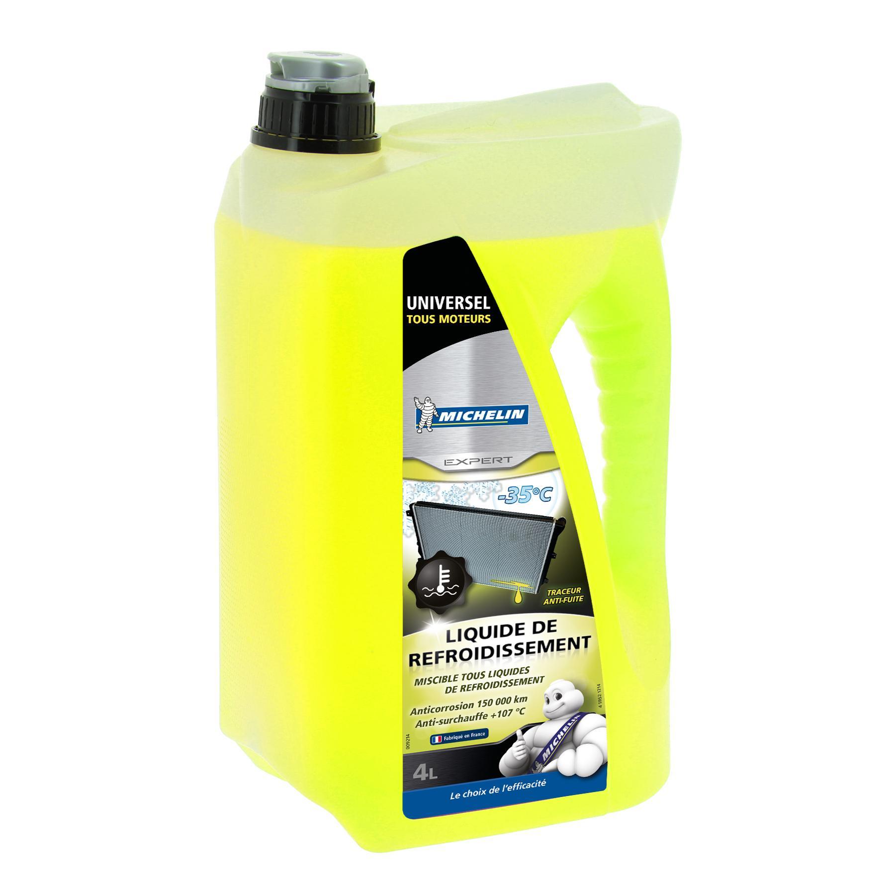 Köp Michelin 009214 - Glykol: G13 gul, 4l G13, Temperaturområde från: +107°C