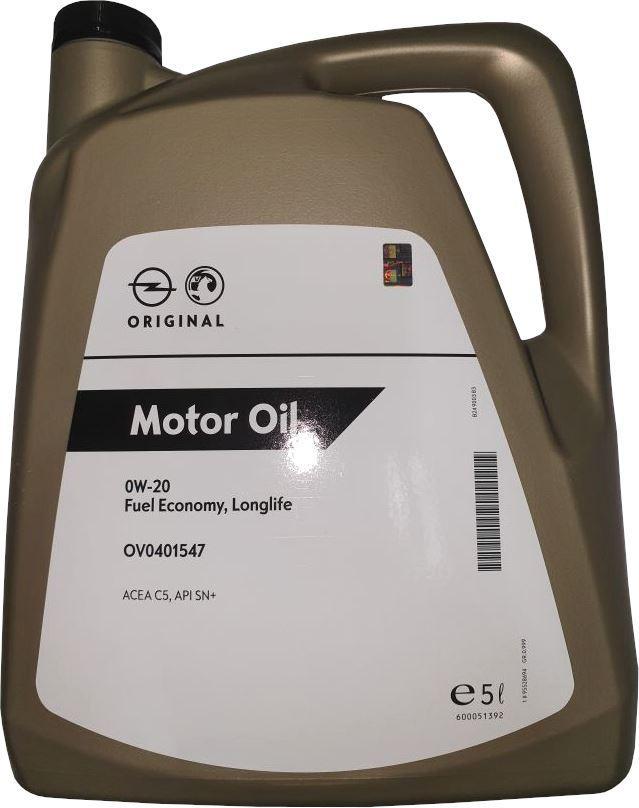 Motoröl OPEL GM 95528694