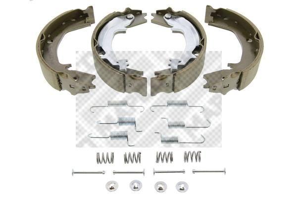 KIA SPORTAGE 2016 Bremsklötze für Trommelbremse - Original MAPCO 8557/1 Breite: 40mm