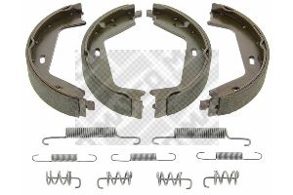 MAPCO: Original Bremsbelagsatz Trommelbremse 8862/1 (Breite: 25mm)