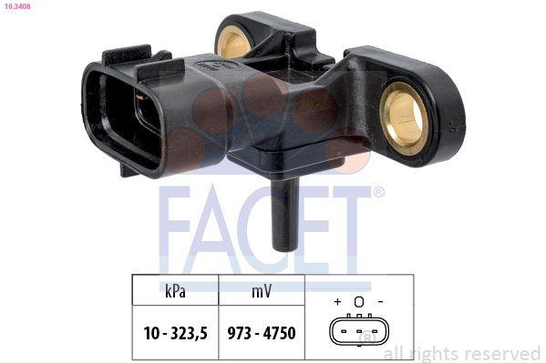 Original MERCEDES-BENZ Sensor Saugrohrdruck 10.3408
