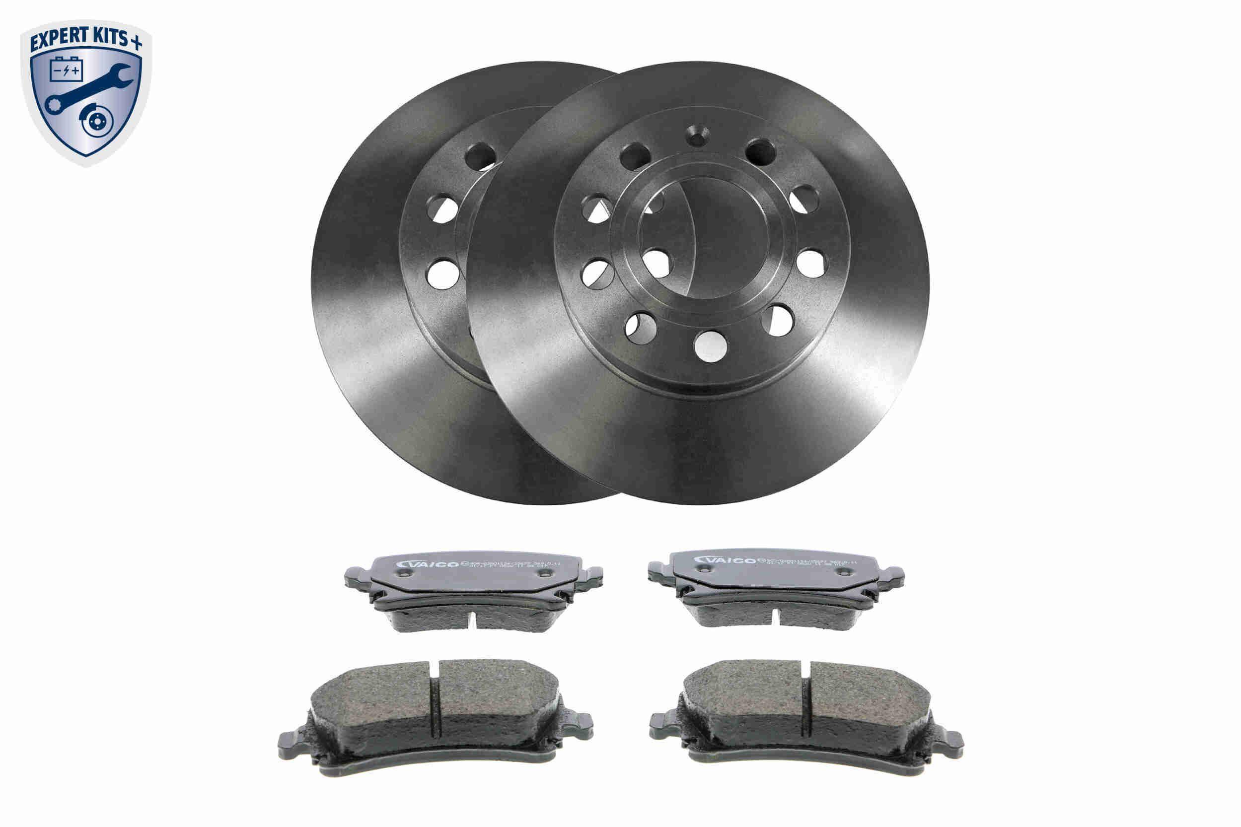 VAICO: Original Bremsscheiben und Beläge V10-6624 (Bremsscheibendicke: 12mm)