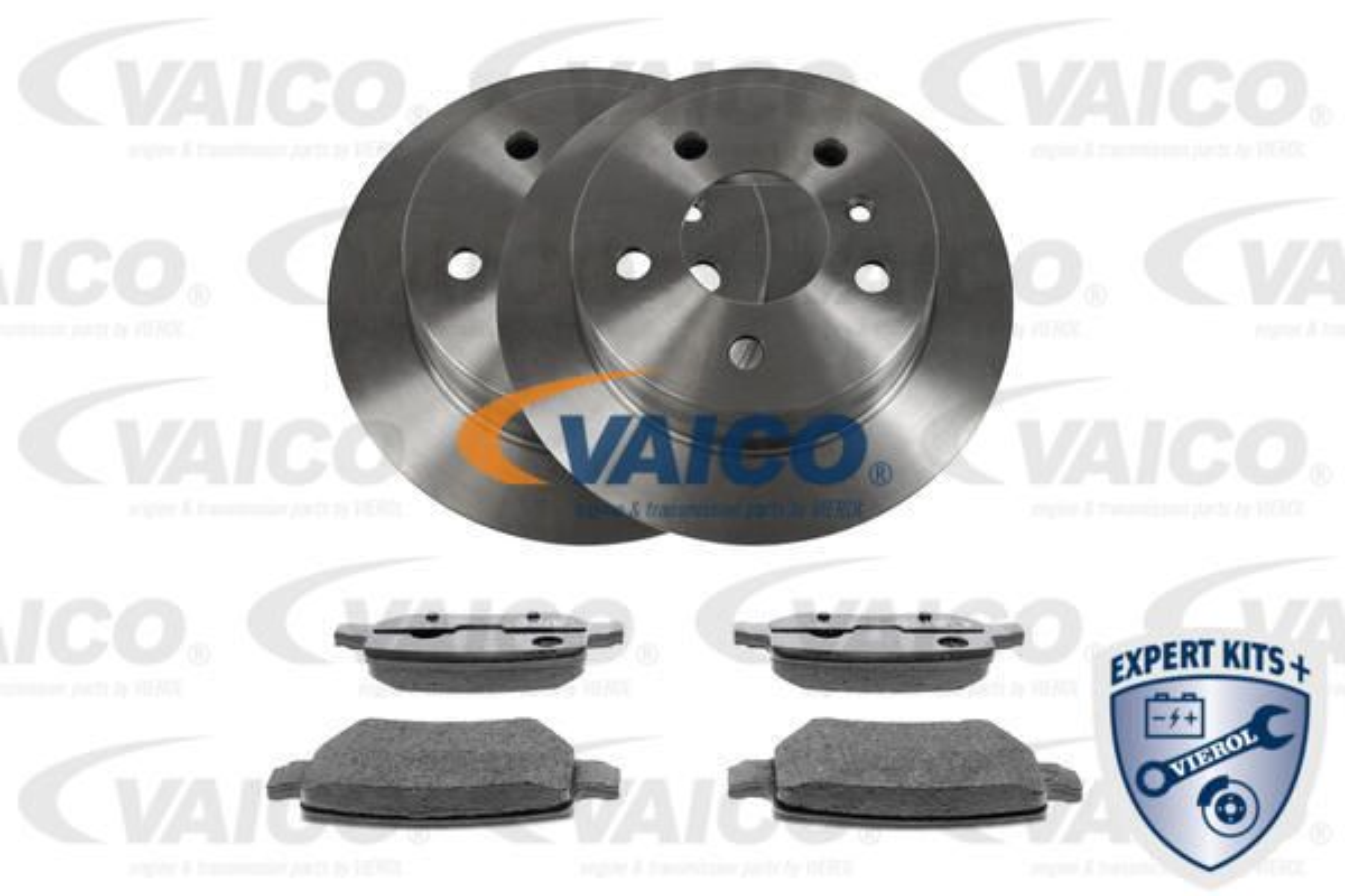 VAICO: Original Bremsen Kit V30-3682 (Bremsscheibendicke: 8mm)