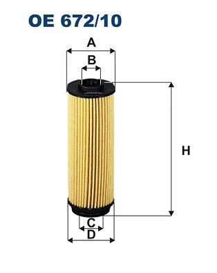 Motorölfilter FILTRON OE 672/10