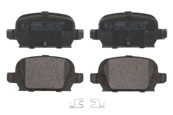 Bremsbelagsatz Scheibenbremse ABE C2X018ABE