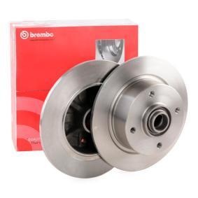 Brake Disc 08.2691.10 for VW KAEFER at a discount — buy now!