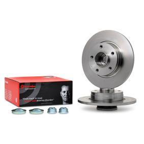 08.9597.17 BREMBO BEARING DISC LINE Voll, mit ABS-Sensorring, mit Radlagersatz Ø: 280mm, Lochanzahl: 5, Bremsscheibendicke: 12mm Bremsscheibe 08.9597.17 günstig kaufen