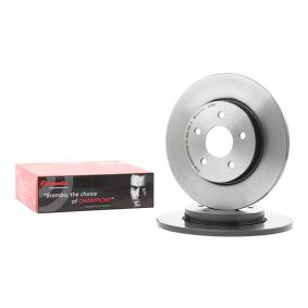08.9734.11 BREMBO COATED DISC LINE Voll, beschichtet, hochgekohlt Ø: 280mm, Lochanzahl: 5, Bremsscheibendicke: 12mm Bremsscheibe 08.9734.11 günstig kaufen