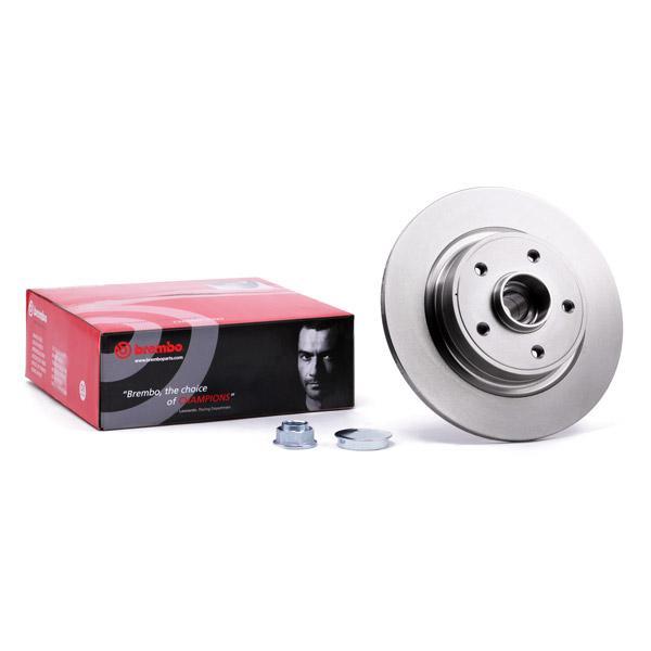 Stabdžių diskas 08.9792.17 su puikiu BREMBO kainos/kokybės santykiu