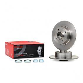 08.A141.17 BREMBO BEARING DISC LINE Voll, mit ABS-Sensorring, mit Radlagersatz Ø: 240mm, Lochanzahl: 4, Bremsscheibendicke: 8mm Bremsscheibe 08.A141.17 günstig kaufen