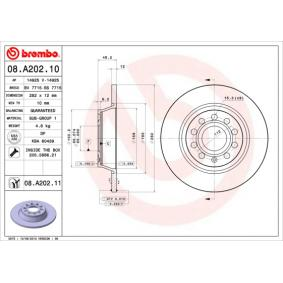 BREMBO 08.A202.10 Disco freno