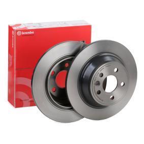 08.A536.11 BREMBO COATED DISC LINE Solid, belagd Ø: 302mm, Hålant.: 5, Bromsskivetjocklek: 12mm Bromsskiva 08.A536.11 köp lågt pris
