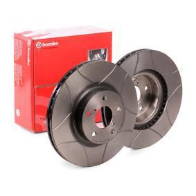 Piezas para coche Rotores de discos de frenos Brembo 09.5673.14 Rotores de Discos de Frenos