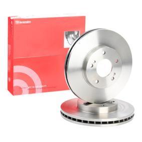 Disc frana 09.5931.10 pentru NISSAN 300 ZX la preț mic — cumpărați acum!