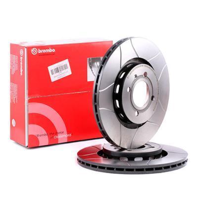 BREMBO Kit de Disque de frein 09.6728.75 - 2 pieces