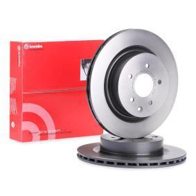 Disc frana 09.7356.21 pentru NISSAN 350 Z la preț mic — cumpărați acum!