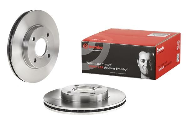 09.7806.14 Спирачен диск BREMBO в оригиналното качество