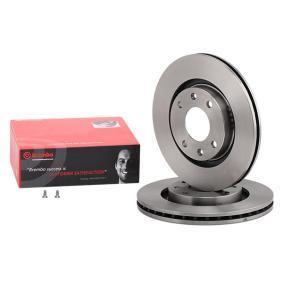 Front Vented Brake Discs Peugeot 2008 1.6 HDI Estate 2013-92HP 266mm