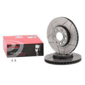 09.9145.75 BREMBO BREMBO MAX LINE Slotted, Internally Vented, Coated, with screws Ø: 288mm, Num. of holes: 5, Brake Disc Thickness: 25mm Brake Disc 09.9145.75 cheap