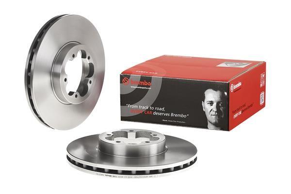 09A53110 Спирачен диск BREMBO 09.A531.10 - Голям избор — голямо намалание