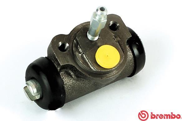 BREMBO: Original Bremszylinder Hinten A 12 420 (Bohrung-Ø: 19,05mm)