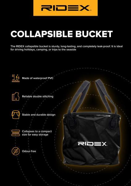 Faltbarer eimer RIDEX (100185A0002)