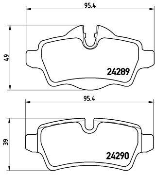 P06052 Bremsklötze BREMBO Erfahrung
