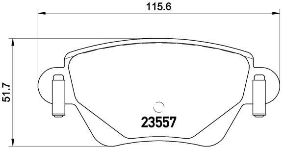 P24059 Bremsklötze BREMBO Erfahrung