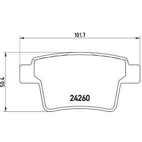 P24063 Bremsbelagsatz, Scheibenbremse BREMBO Erfahrung