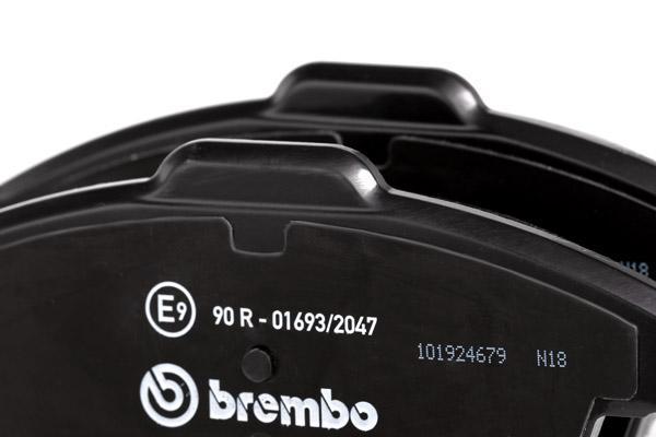 P24076 Bremsklötze BREMBO Erfahrung