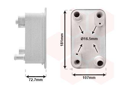 AUDI A8 2014 Getriebe Ölkühler - Original VAN WEZEL 03013700
