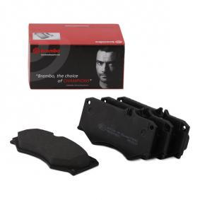 Buy BREMBO Brake Pad Set, disc brake P 50 003 for MERCEDES-BENZ at a moderate price