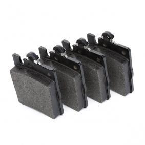 7784D873 BREMBO für Verschleißwarnanzeiger vorbereitet Höhe: 78,2mm, Breite: 63,7mm, Dicke/Stärke: 15,7mm Bremsbelagsatz, Scheibenbremse P 50 033 günstig kaufen
