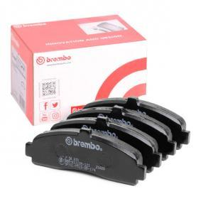 Brake Pad Set, disc brake P 56 031 for NISSAN MICRA II (K11) — get your deal now!