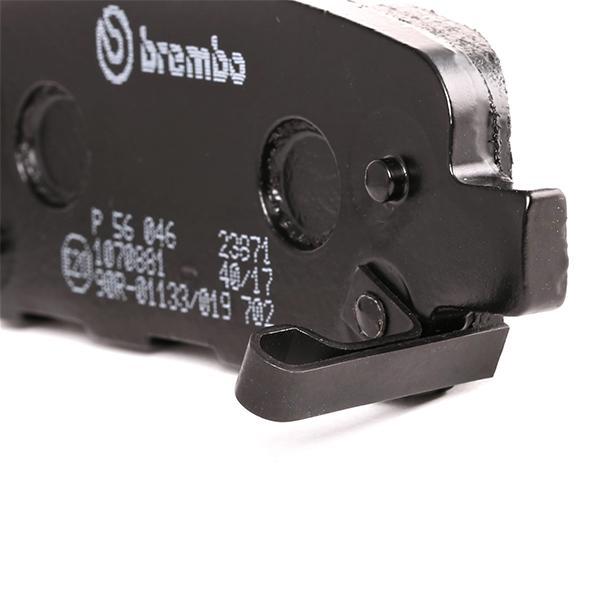 P 56 046 Bremsbelagsatz BREMBO - Markenprodukte billig