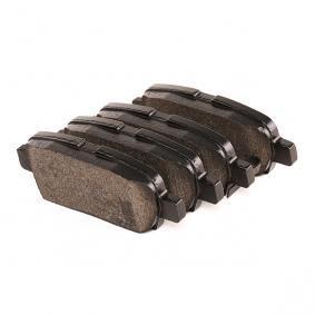 P56046 Bremsbelagsatz, Scheibenbremse BREMBO D5377418 - Große Auswahl - stark reduziert