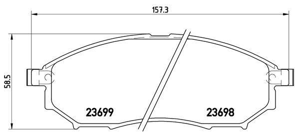 P56058 Bremsklötze BREMBO Erfahrung