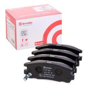 Sada brzdových platničiek kotúčovej brzdy P 59 021 OPEL FRONTERA v zľave – kupujte hneď!