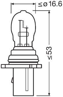 Φώτα πάρκιν / θέσης 6851 OSRAM — μόνο καινούργια ανταλλακτικά