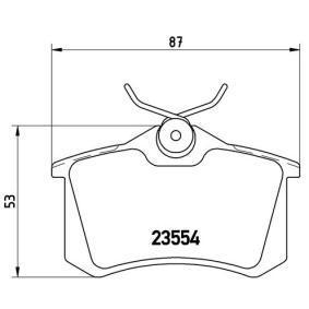 P 68 024 Bremsbelagsatz, Scheibenbremse BREMBO in Original Qualität