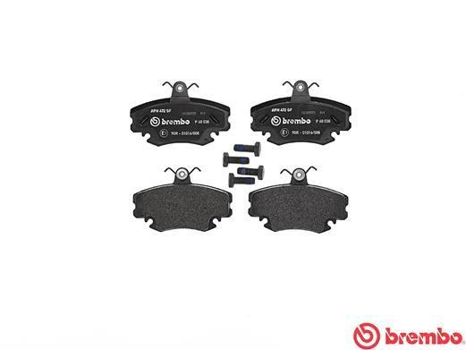 P 68 038 Bremsbelagsatz BREMBO - Markenprodukte billig
