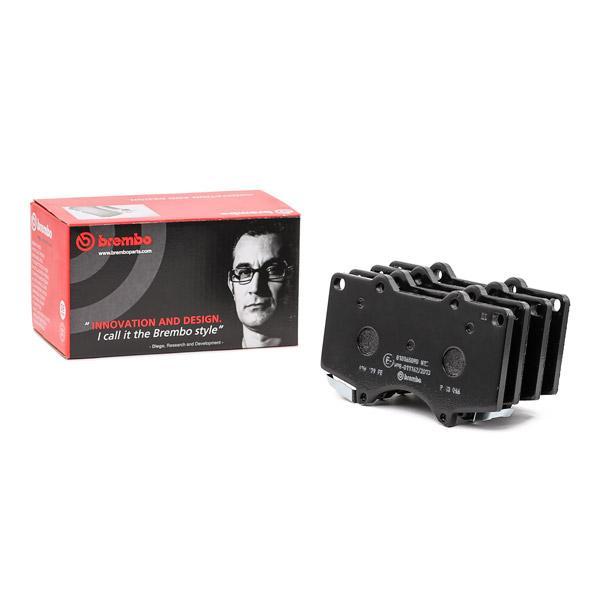Kit pastiglie freno, Freno a disco BREMBO P 83 066 Recensioni