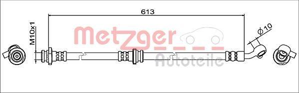 Bremsschläuche 4111946 Nissan QASHQAI 2016
