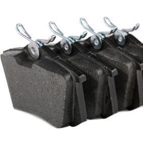 P 85 020 Bromsbeläggssats, skivbroms BREMBO - Billiga märkesvaror