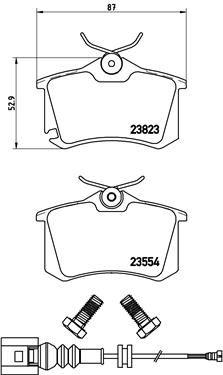 P85066 Pastillas de freno de disco BREMBO - Experiencia en precios reducidos