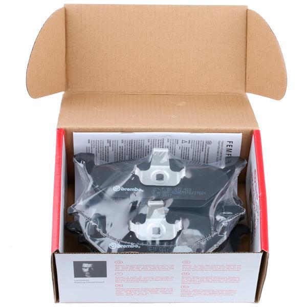 P 85 072 Forros de freno BREMBO - Productos de marca económicos