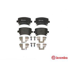 P85073 Bremsbelagsatz, Scheibenbremse BREMBO 8213D1108 - Große Auswahl - stark reduziert