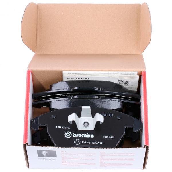 P 85 075 Forros de freno BREMBO - Productos de marca económicos